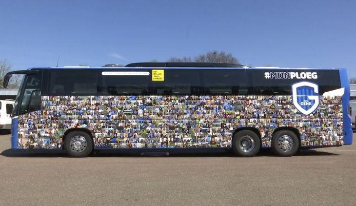 De speciale bus van Genk.
