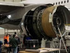 Schade aan motor Boeing 777 in Colorado wijst op metaalmoeheid