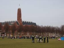 Demonstranten verlaten Malieveld na noodbevel bij actie tegen politiegeweld: 'Maximum bereikt'