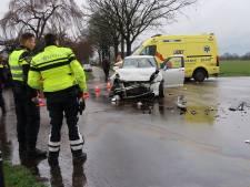 Twee vrouwen gewond bij botsing in Chaam