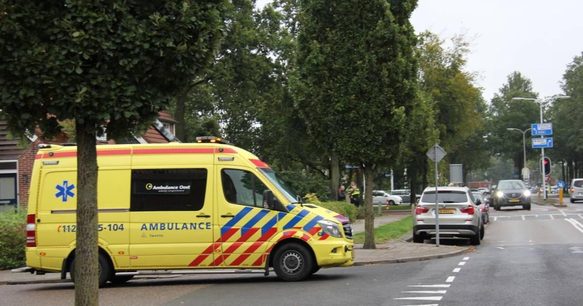 Fietser gewond bij aanrijding in Almelo.