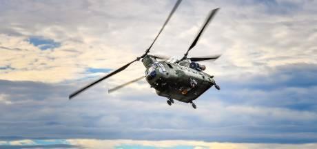 Overdracht eerste van twintig nieuwe Chinook helikopters op vliegbasis Gilze-Rijen
