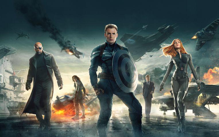 Captain America: The Winter Soldier. Beeld Marvel