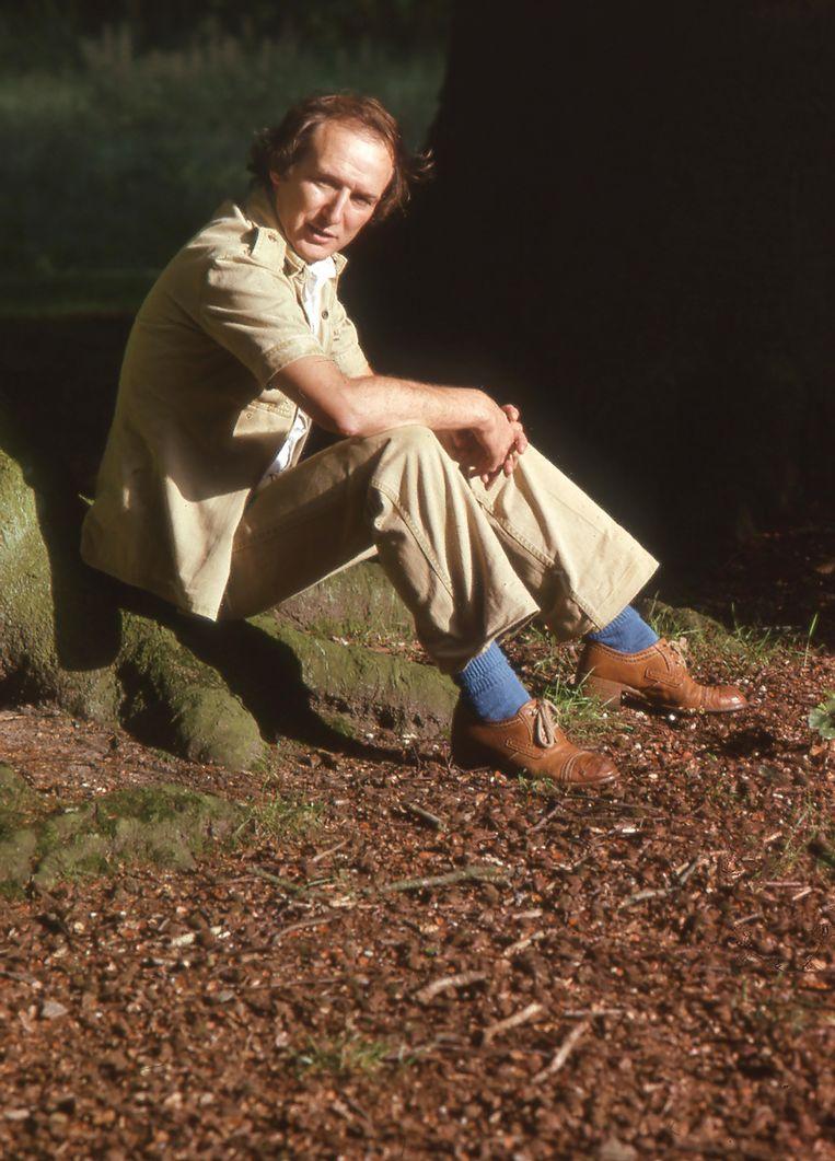 Zanger Nico Haak maakte in 1977 de hoesfoto voor Het beste in mij is niet goed genoeg voor jou. Dit is een foto uit dezelfde sessie. Beeld Nico Haak