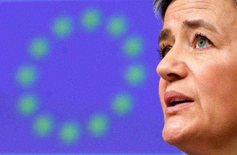 Eurocommissaris Margrethe Vestager Beeld REUTERS