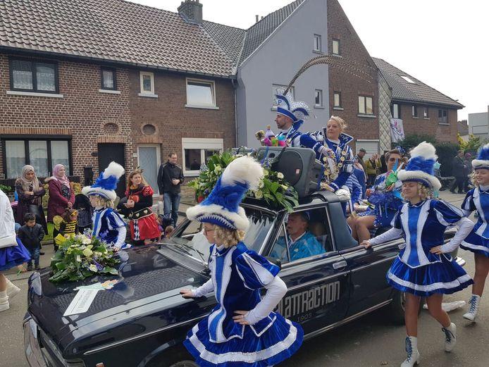 Het Prinsenpaar tijdens Carnaval Halle, eerder dit jaar.