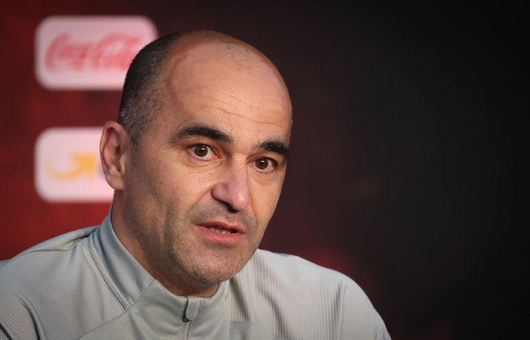 De Spanjaard Roberto Martínez, bondscoach van België, topfavoriet voor het EK.  Beeld BELGA