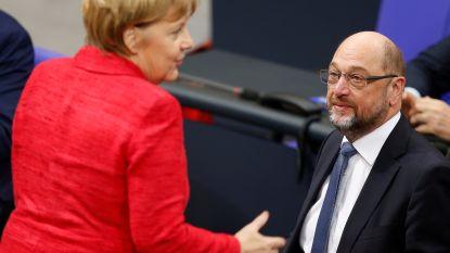 Duitse sociaaldemocraten draaien - stilaan - bij: steeds meer voorstanders voor coalitie met Merkel
