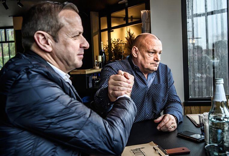 Paul Herygers: 'Thibau Nys is de Belgische veldrithoop voor de toekomst. Je ziet aan alles dat hij een echte coureur is: hij gaat om te beginnen al niet graag naar school.' Beeld Geert Van De Velde