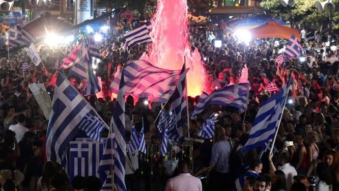 Grieken vieren feest, maar hoe moet het nu verder?