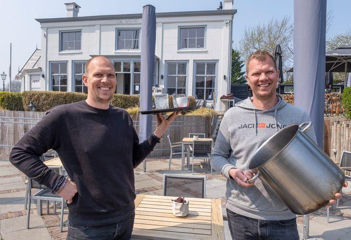 Bart en Paul Melis van restaurant De Werf in Veere.