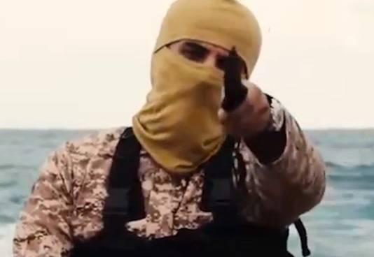 """""""Jihadi John"""", ce combattant britannique de l'État Islamique qui apparaît régulièrement lors des terribles vidéos de propagation diffusées par le groupe terroriste."""
