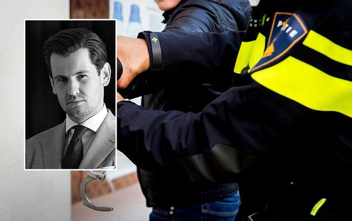 Advocaat Justin Kötter deed namens het Dordtse gezin aangifte tegen de politie.