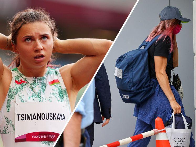 Steun voor gevluchte atlete uit Belarus