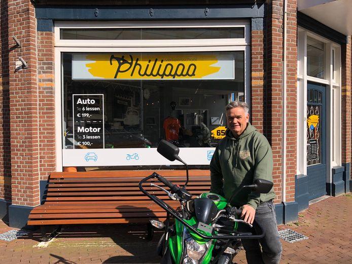 Arno van Blitterswijk van Verkeersschool Philippo