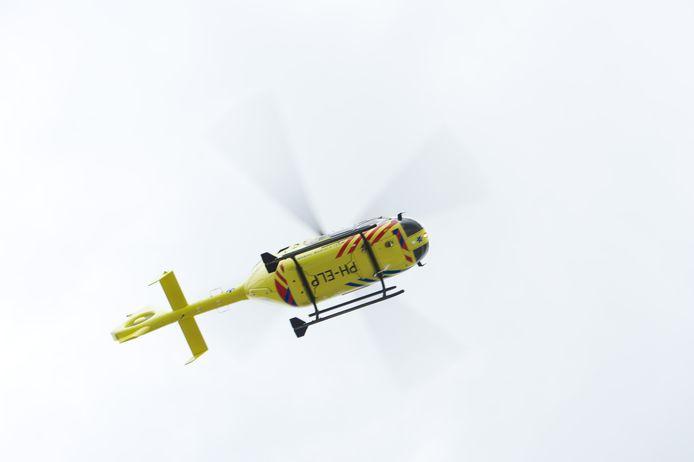 De traumahelikopter op archiefbeeld, foto ter illustratie