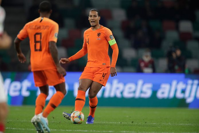 Virgil van Dijk en Georginio Wijnaldum komen gaan zondag op bezoek bij Manchester United.