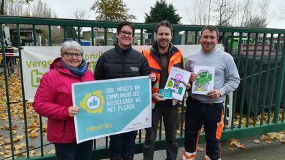 Afvalophalers en recyclageparkwachters gehuldigd