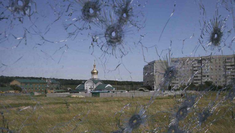 Ook in de regio Loehansk is het nog onrustig. Beeld REUTERS
