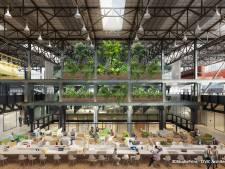 Tegenvaller pakt positief uit: verbouwde LocHal in Tilburg oogt vanuit alle hoeken groen