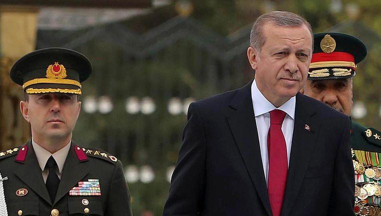 De Turkse president Erdogan Beeld afp