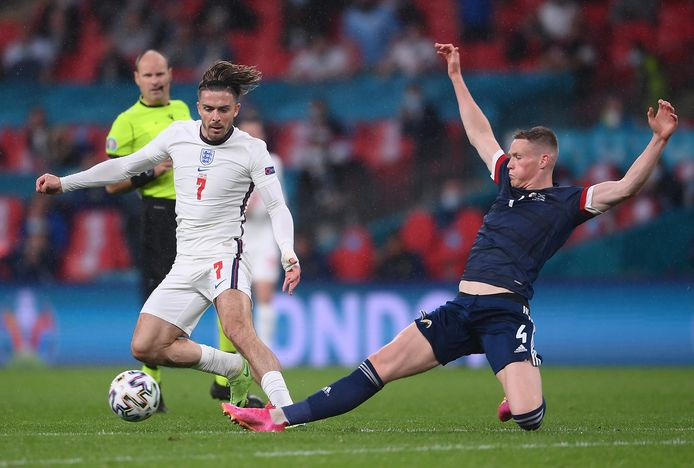 Engeland-Schotland was voor Nick Collins dé wedstrijd van het EK.