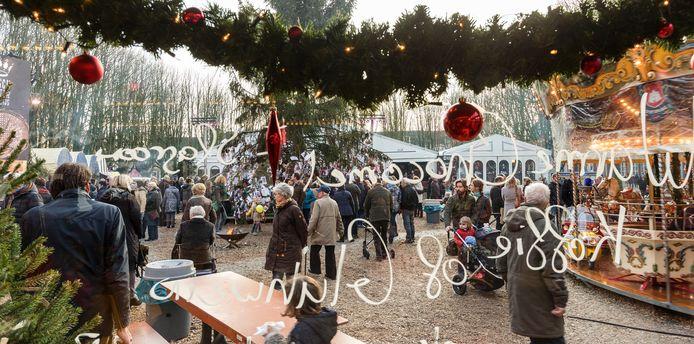 Het Winterparadijs op de Parade afgelopen winter.