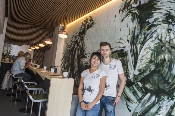 Hoa Truong en Huibrecht Berends