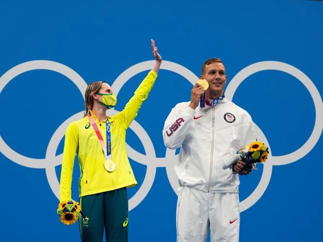 Fenomenale Caleb Dressel, een historisch duel en landgenote in de finale: dit was het olympisch zwemtoernooi
