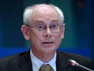 """Van Rompuy: """"Ik ga niet als een kleine dictator te werk"""""""