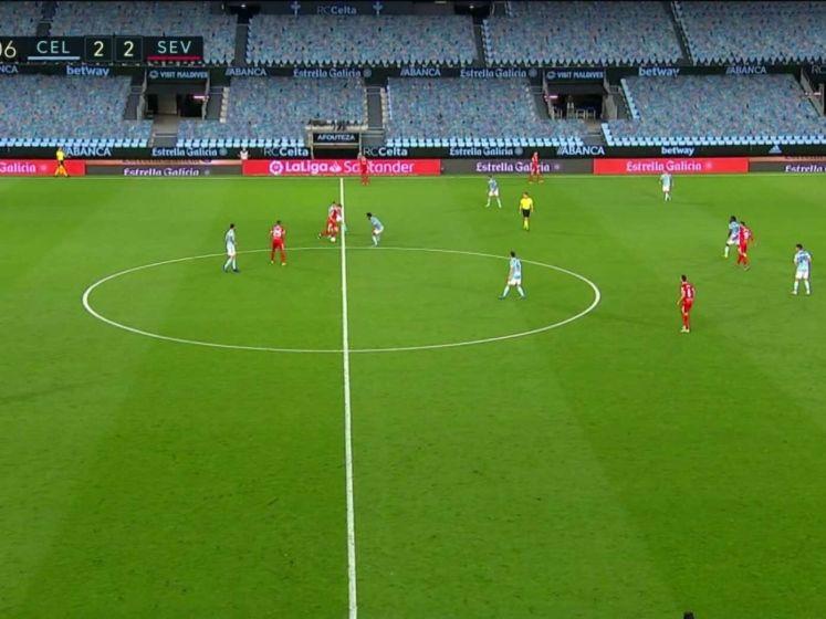 Sevilla in extremis langs Celta de Vigo in doelpuntenfestijn