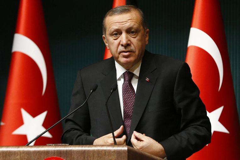 Turkse president Erdogan Beeld reuters
