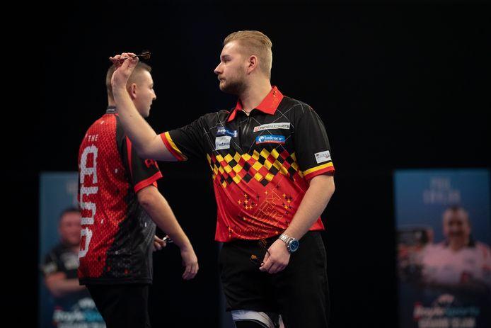 Aspinall en Van den Bergh tijdens een eerdere confrontatie in november 2020.