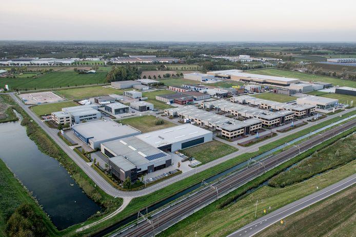 Industrieterrein Hondsgemet bij Geldermalsen.