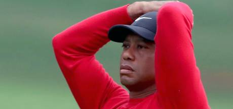 Dieptepunt voor Tiger Woods in Augusta: 'horrorhole'