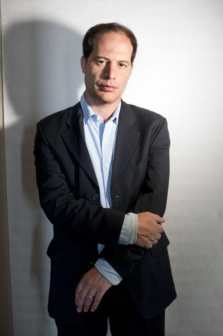 De Brits-Nederlandse schrijver en columnist van de Financial Times Simon Kuper publiceert met name over sport. Beeld