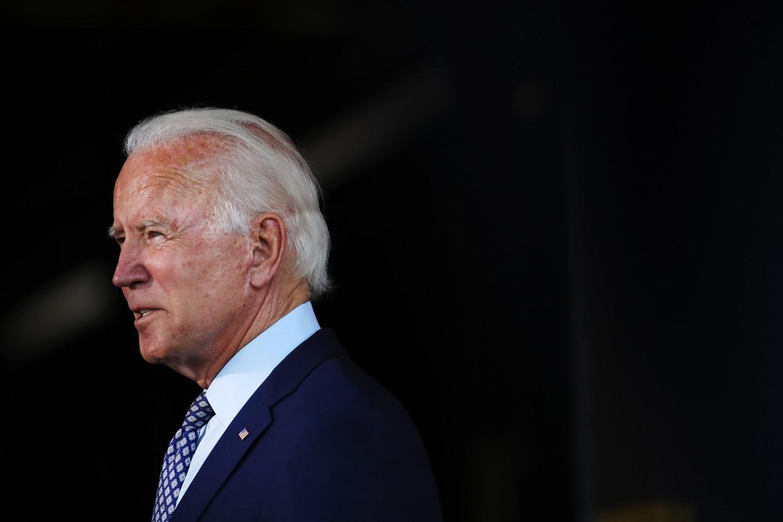 Afgelopen week zei Biden dat er vier Afro-Amerikaanse vrouwen op zijn shortlist staan. Hij wilde zich echter niet committeren aan de keuze voor een gekleurde vrouw. Beeld AFP