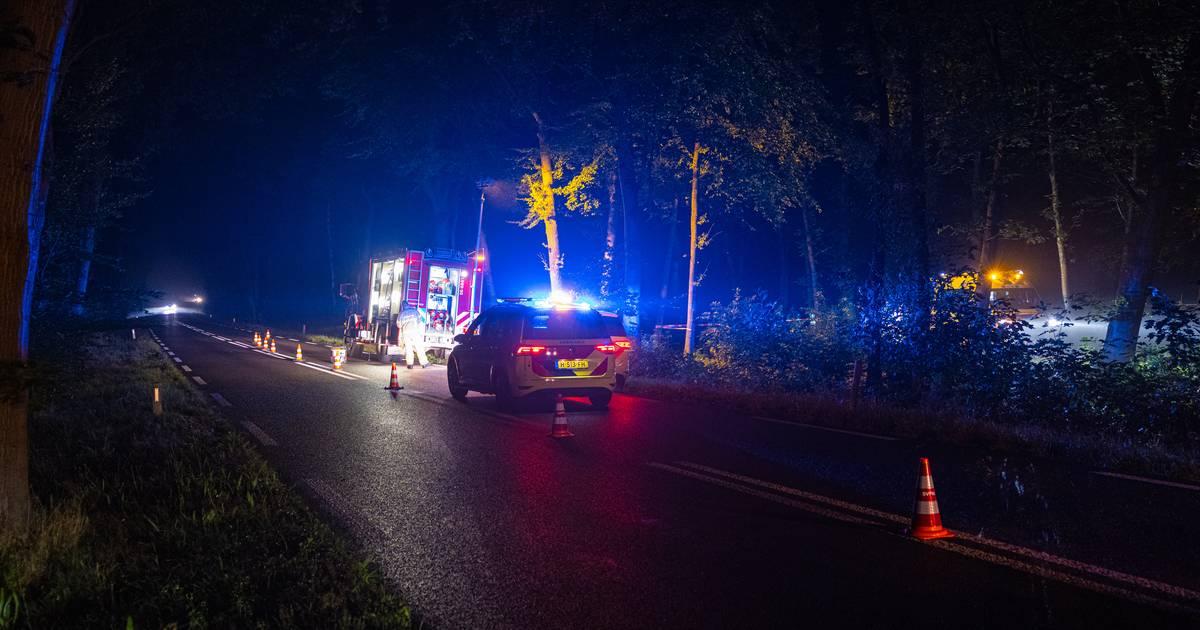 Man uit Wezep overlijdt na eenzijdig scooterongeluk.