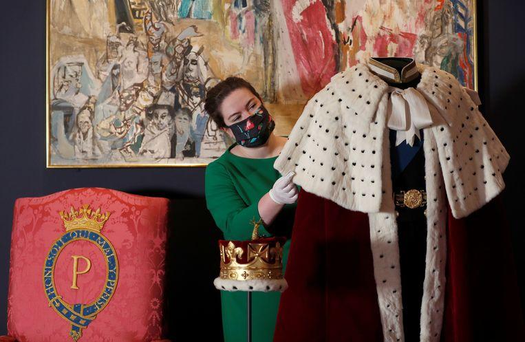 Lid van de hofhouding van het Britse koningshuis. Beeld Foto Reuters