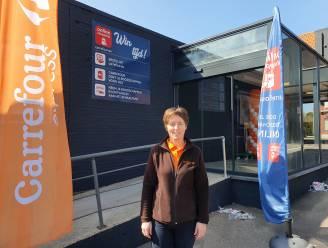 """Linda (44) heropent Carrefour in centrum Meer: """"Ik zie het helemaal zitten"""""""