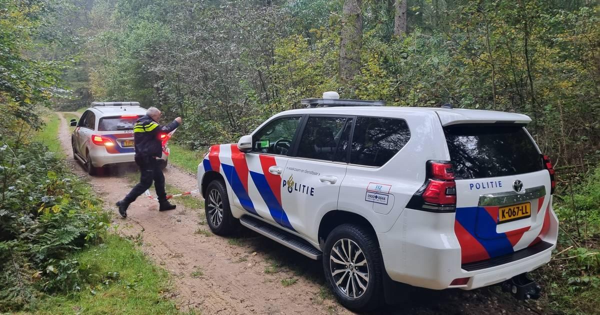 Dode motorrijder gevonden in bos bij Braamt: vermoedelijk tegen boom gebotst