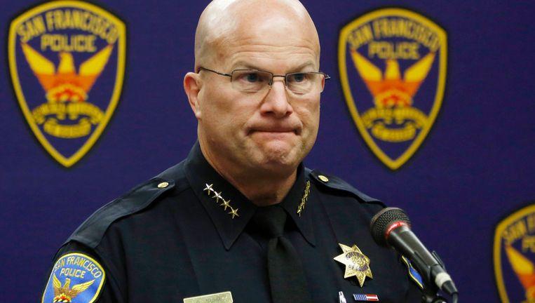 De opgestapte politiechef Greg Suhr.