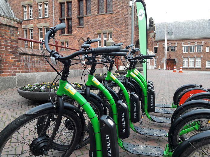 De e-steps van CitySteps  moeten de bereikbaarheid van het bedrijventerrein in Waalwijk verbeteren.
