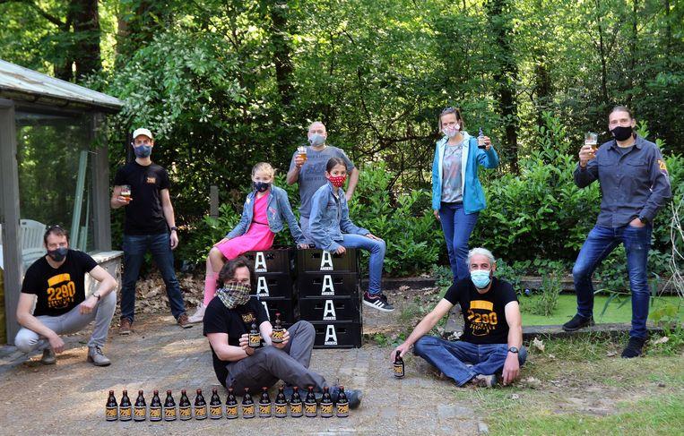 De biervrienden van Vorselazarus zijn op zoek naar een nieuwe stockageplaats voor hun brouwsel