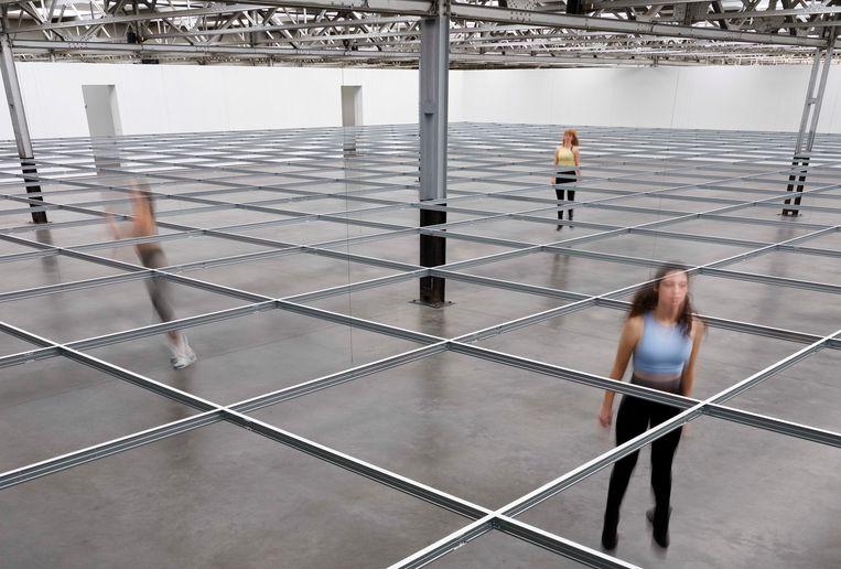 Dansers in museumDe Pont in Tilburg. Beeld Rene van der Hulst