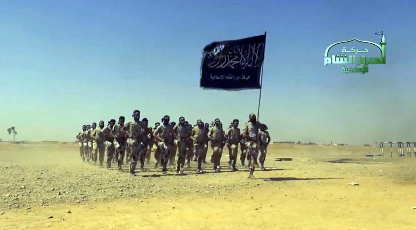 Rebellen van Ahrar al-Sham in 2016.