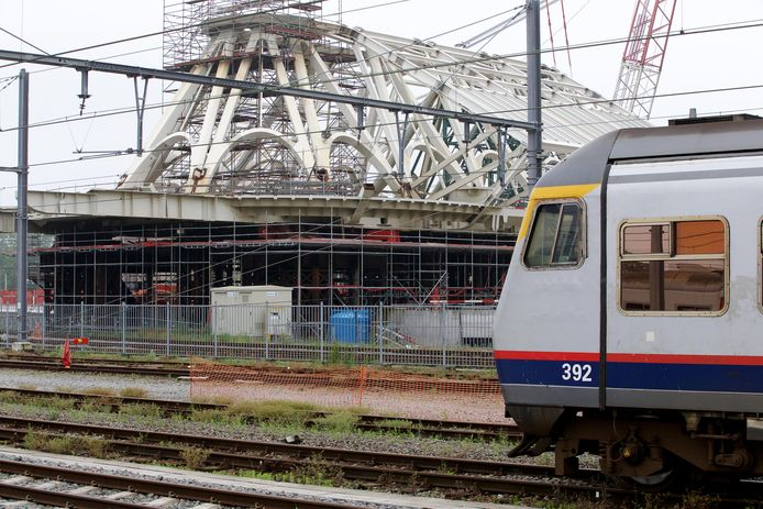 Le gare de Mons en 2016.