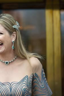 Máxima: 'Stiekem blij dat ik door corona tijd heb met kinderen voor ze het huis uit gaan'