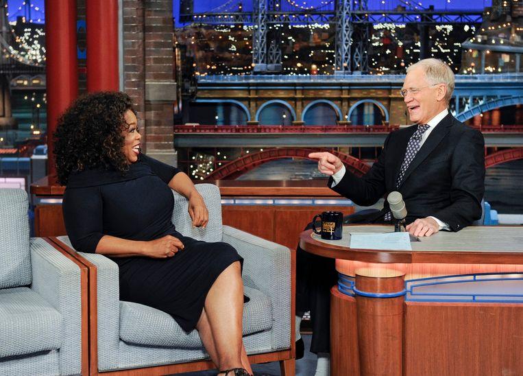 """De ruzie begon in de jaren 80 toen Winfrey bij 'The Late Show' verscheen en later verklaarde dat het een """"onwaarschijnlijk ongemakkelijke ervaring"""" was."""