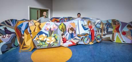 Alsnog redding voor De Vier Jaargetijden:  kunstwerk keert terug op oorspronkelijke plek in Oldenzaal